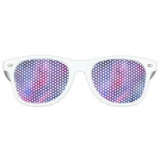 Ultra violet galaxy retro party shades
