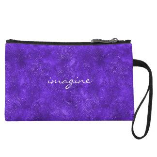 Ultra violet mini clutch
