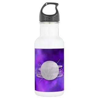 ultra violet, modern,purple,triangle,silver,trendy 532 ml water bottle