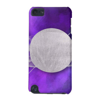 ultra violet, modern,purple,triangle,silver,trendy iPod touch 5G case