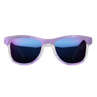 ultra violet, modern,purple,triangle,silver,trendy sunglasses