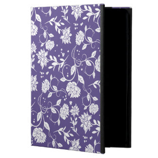 Ultra Violet Poetry Garden Flower iPad Air Cover