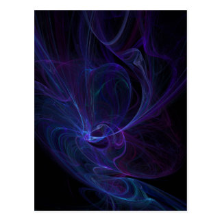 Ultra violet postcard