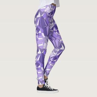 Ultra Violet Prism Pattern Print Leggings