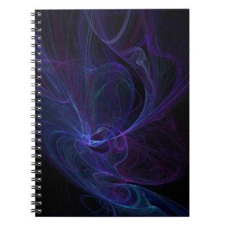 Ultra violet spiral notebook
