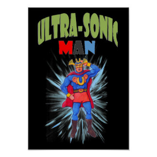 Ultrasonic Man Poster