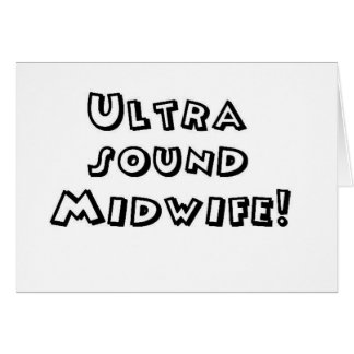 ultrasound midwife card