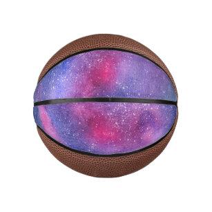 Ultraviolet galaxy mini basketball