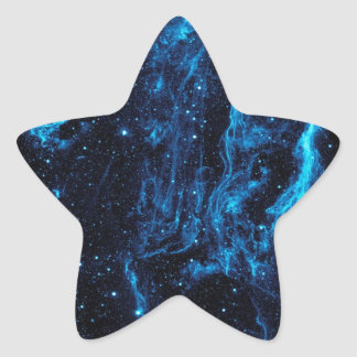 Ultraviolet image of the Cygnus Loop Nebula crop Star Sticker