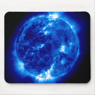 UltraViolet Reflection in Blue Mousepad