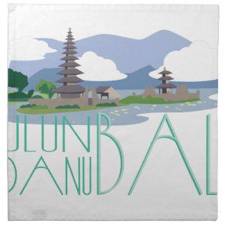 Ulun Danu Bali Napkin