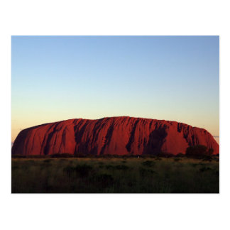 Uluru at Sunset Postcard