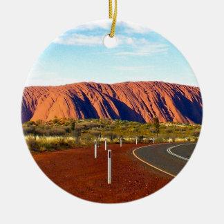 Uluru / Ayers Rock - Australia Ceramic Ornament