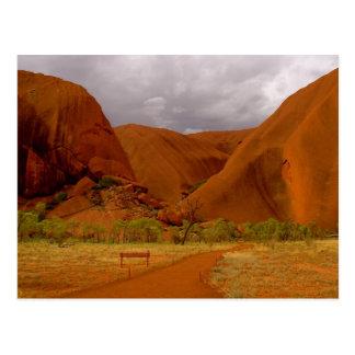Uluru - Ayers Rock Postcard