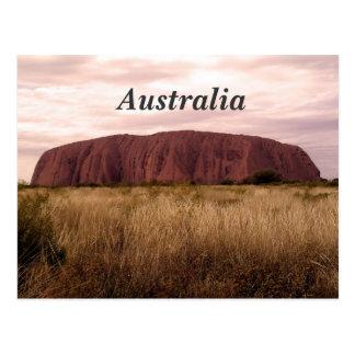 Uluru Postcard