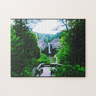 ULYSSES NEW YORK  TAUGHANNOCK FALLS puzzle