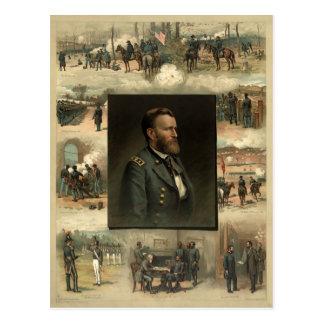 Ulysses S. Grant, 1885 Postcard