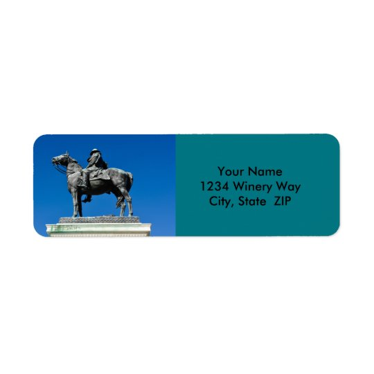 Ulysses S Grant Return Address Label
