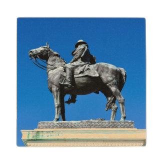 Ulysses S Grant Wood Coaster
