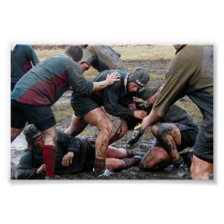 Umass Lowell Rugby Ruck Poster