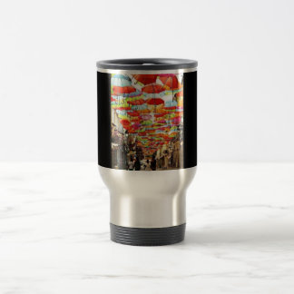 Umbrella Art Travel Mug