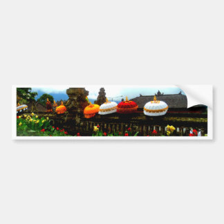 Umbrella Bali Splash Orginal Bumper Sticker
