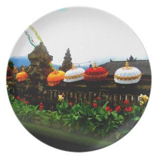 Umbrella Bali Splash Orginal Plate