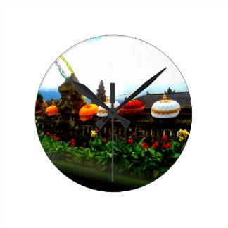 Umbrella Bali Splash Orginal Round Clock