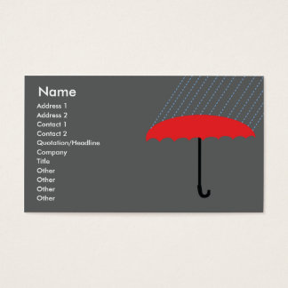 Umbrella - Business Business Card