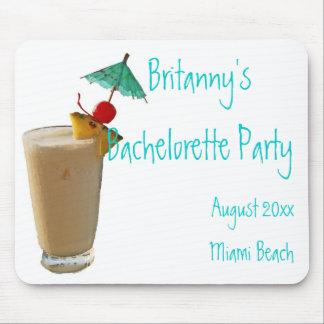 Umbrella Drink Bachelorette Party Favor Mouse Pad