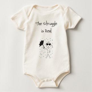 Umbrella Fail Struggle Is Real Baby Bodysuit