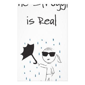 Umbrella Fail Struggle Is Real Stationery