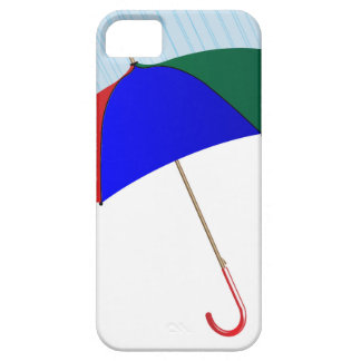 Umbrella In The Rain Case For The iPhone 5