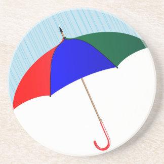 Umbrella In The Rain Coaster