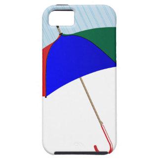 Umbrella In The Rain iPhone 5 Cover