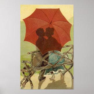Umbrella Lovers Poster