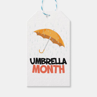 Umbrella Month - Appreciation Day
