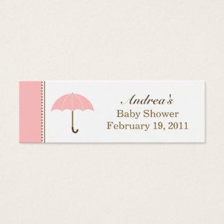 Umbrella Pink Small Tag