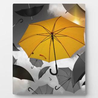 umbrella plaque
