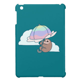 Umbrella Sloth iPad Mini Case
