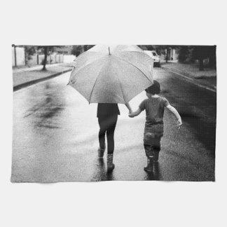 umbrella tea towel