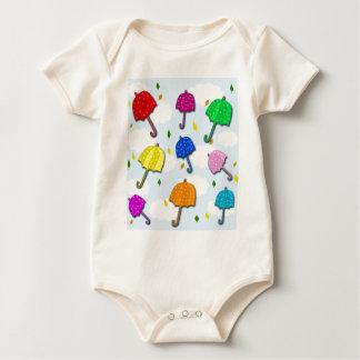 Umbrellas 2 baby bodysuit