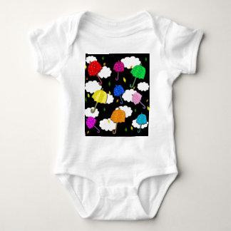 Umbrellas Baby Bodysuit