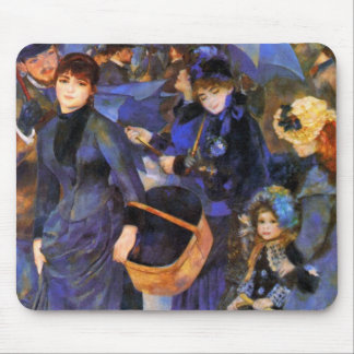 Umbrellas by Renoir Mouse Pad