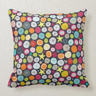 umbrellas cobalt cushion