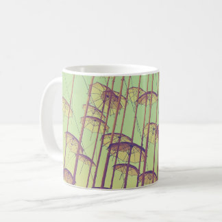 Umbrellas Greece Coffee Mug