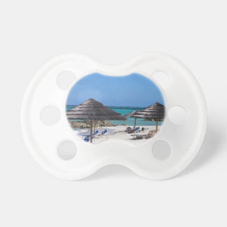 Umbrellas in the Bahamas Baby Pacifiers