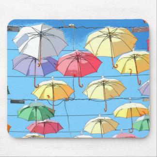 Umbrellas in the Sky Mousepad