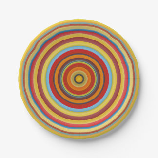 Umbria Circles Paper Plate