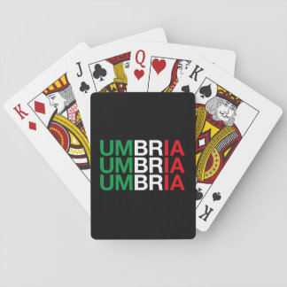 UMBRIA PLAYING CARDS